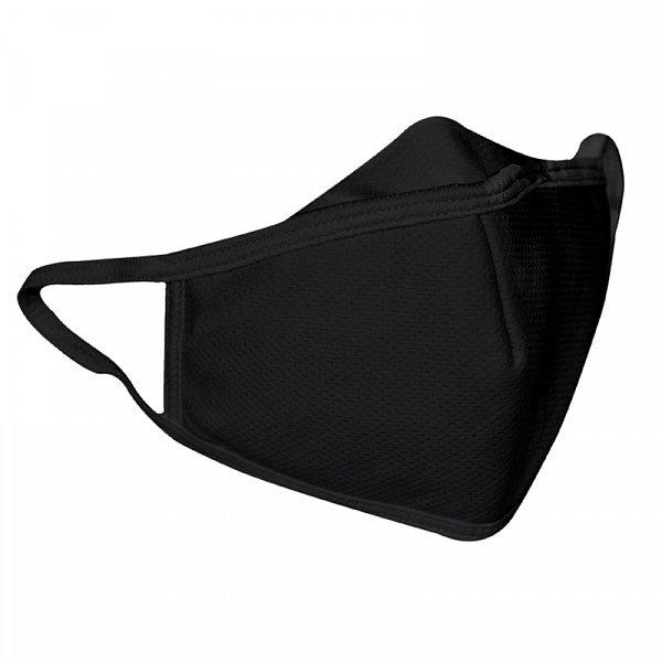 Details: Schutzmasken, schwarz, kleinere Maskenform