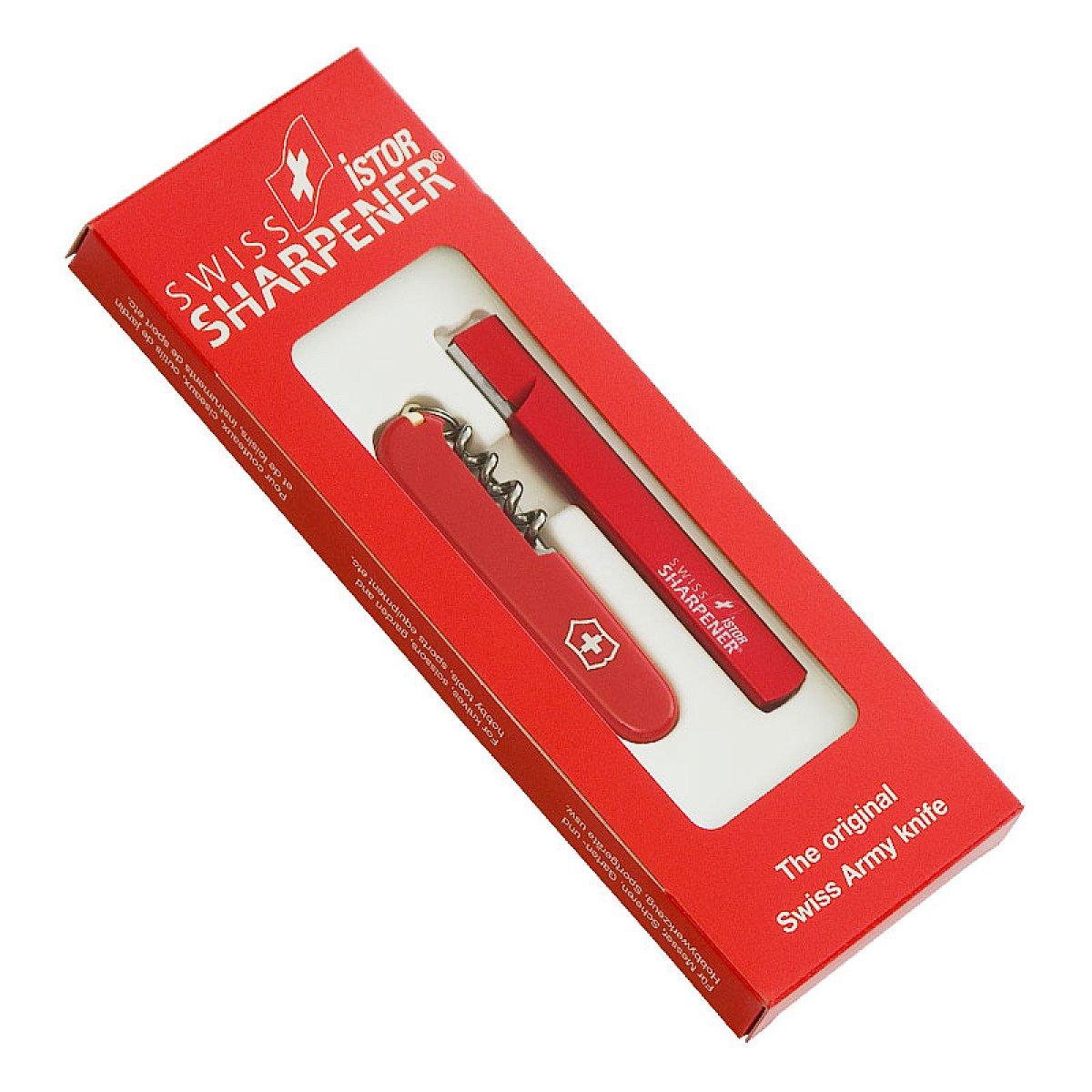 Sharp gift set - Victorinox pocket knife with knife sharpener