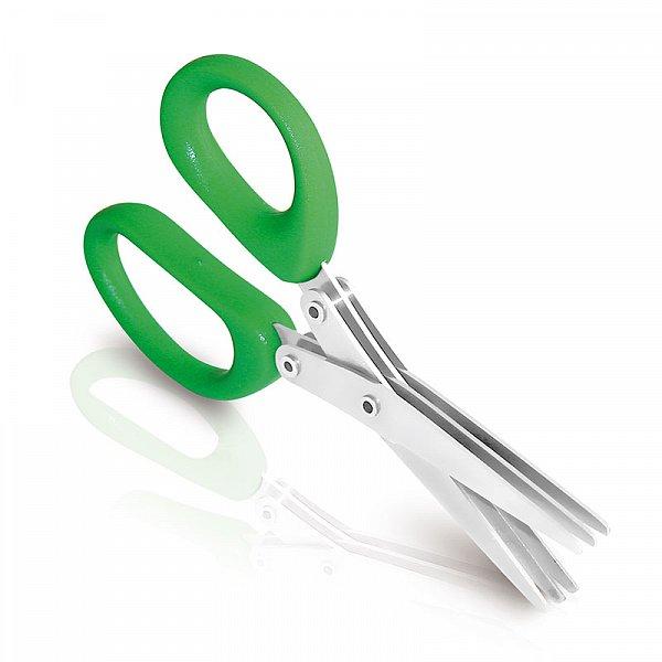 Details: Herb scissors with 6 blades