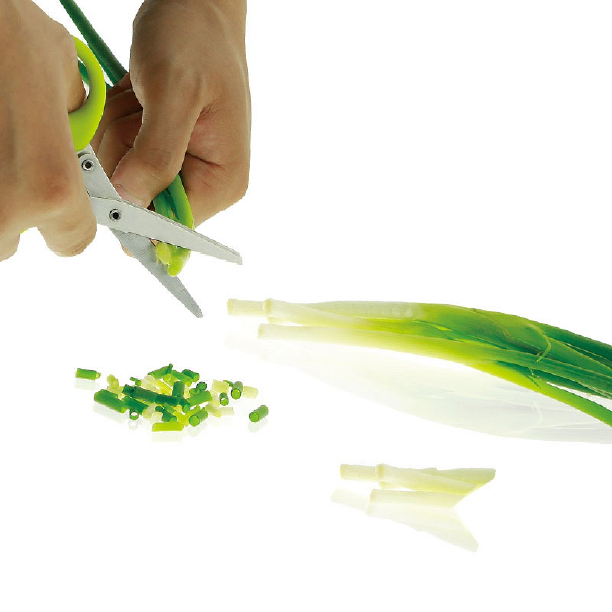 Herb scissors with 6 blades